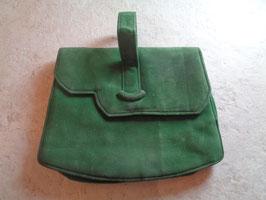 Minaudière verte 40's