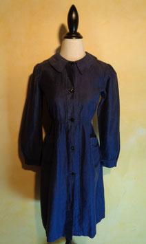 Robe coton bleu 50's T.38-40