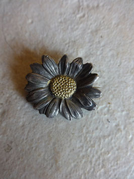 Broche marguerite 40's