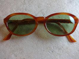 Lunettes de soleil oranges 70's