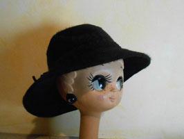 Chapeau duveteux 70's