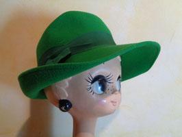 Chapeau laine verte