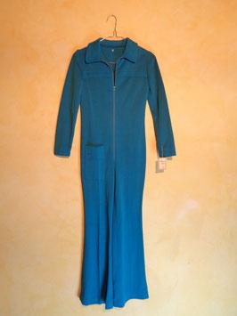 Combinaison turquoise 70's T.36