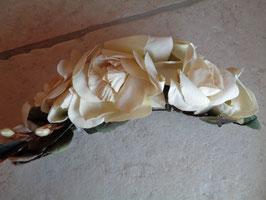 Barrette fleur