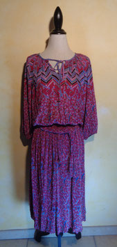 Robe plissée 70's T.40-42