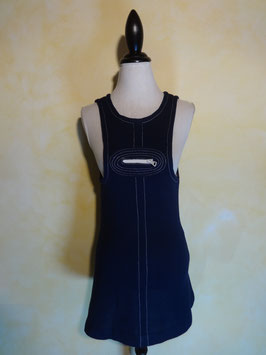 Robe chasuble laine 60's T.36