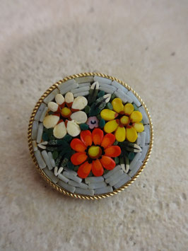 Broche mosaique 30's