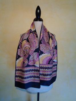 Foulard violet 60's