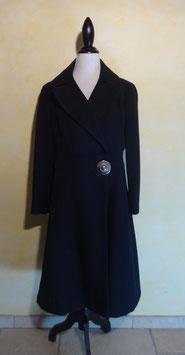Manteau à boucle 60's T.38