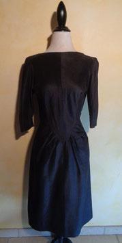 Robe noire 60's T.36