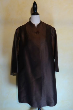 Manteau marron 50's T.42