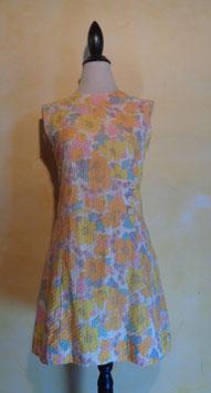 Robe fleurie 60's T.36