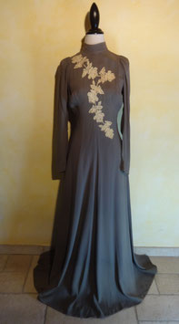 Robe cocktail 30's T.36