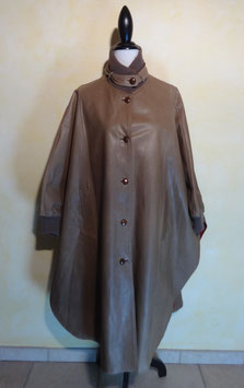 Cape cuir 70's T.38