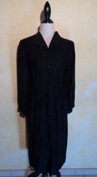 Robe noire coton 50's T.40