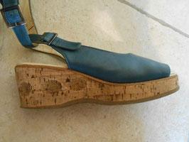 Compensées bleues 70's P.37