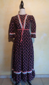 Robe hippie velours 70's T.34