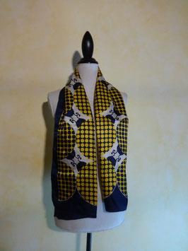 Foulard jaune pop 60's