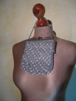Pochette perles 70's