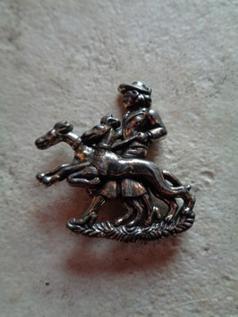 Broche chasse
