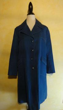Manteau bleu 60's T.40