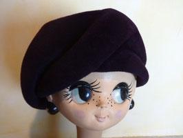 Chapeau violet 60's