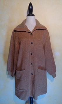 Manteau tout laine 70's T.40