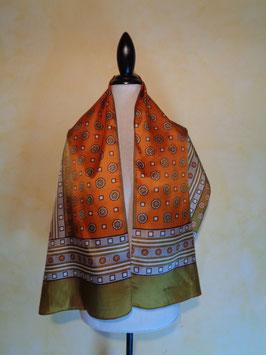 Foulard orange 60's
