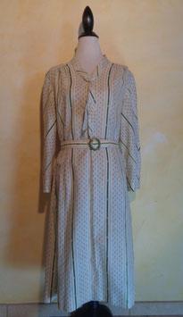 Robe lavallière 70's T.40