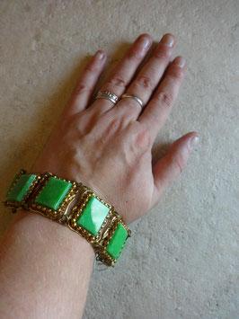 Bracelet vert 50's