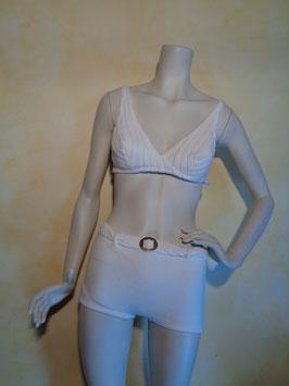 Bikini blanc 60's T.36
