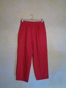 Pantalon rouge 90's T.40