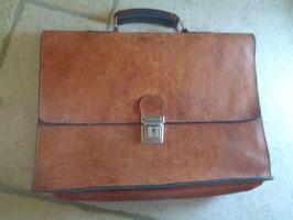 Cartable cuir 70's