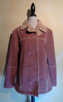 Manteau velours 70's T.40