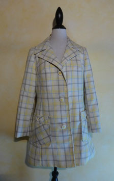Veste carreaux 70's T.38