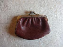 Mini porte monnaie cuir 50's