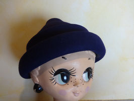 Bibi laine violette