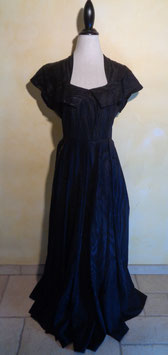 Robe noire 50's T.40
