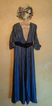 Robe soie 1900 T.34