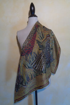 Foulard canard mosaïque