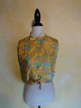 Top soie pop 60's T.36