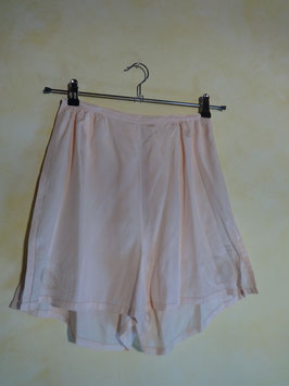 Shorty soie rose 50's T..36