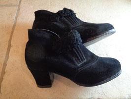 Chaussures fourrées 50's P.37