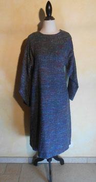 Robe laine chinée 70's T.40