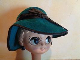 Chapeau vert 40's