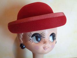 Chapeau laine rouge