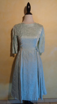 Robe bleue clair 50's T.36