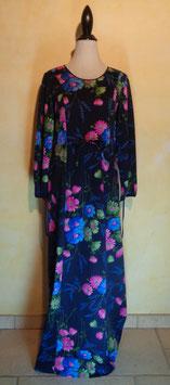 Longue robe fleurie 70's T.40