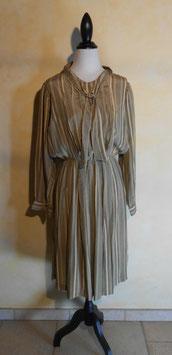 Robe lavalière rayée 70's T.40