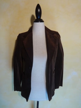 Veste velours marron 70's T.36